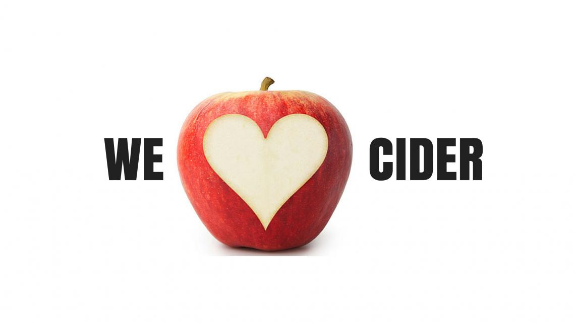we love cider