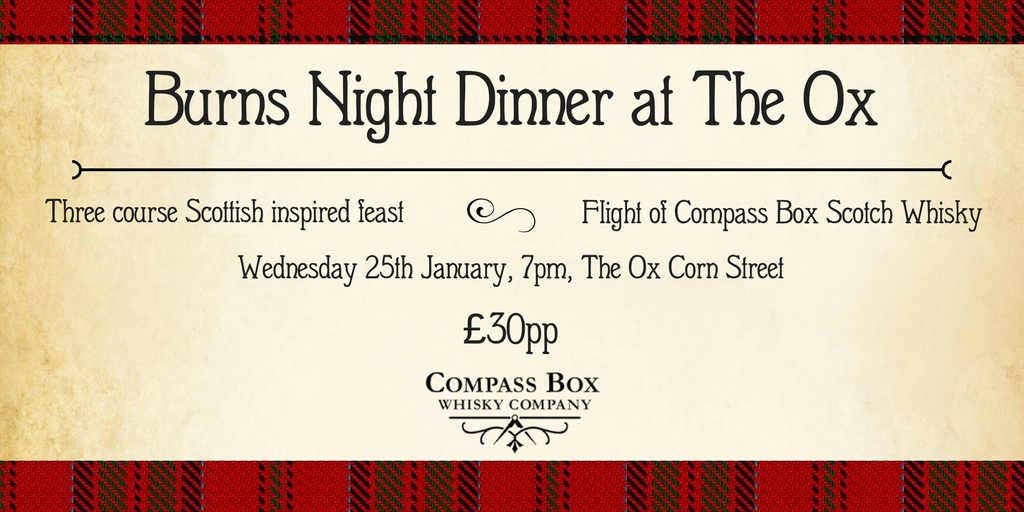 Burns Night Whisky Dinner V2